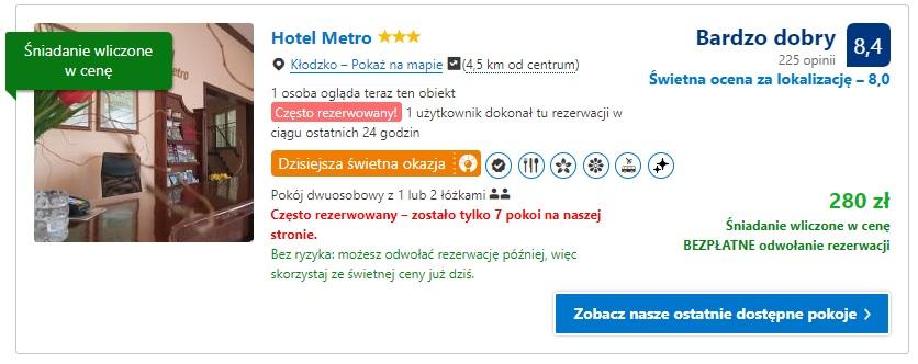 Kłodzko Hotel 1