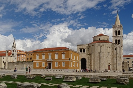 Zadar, Kościół św. Donata Źródło: Pixabay