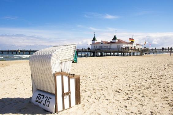 Plaża w Ahlbeck Autor zdjęcia: Medienservice Źródło: Pixabay
