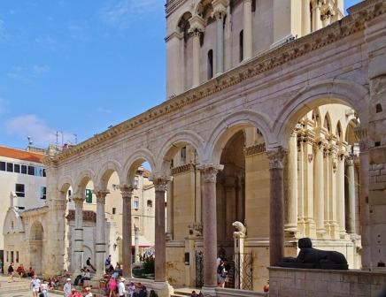 Pałac Dioklecjana Źródło: Pixabay Autor zdjęcia: neufal54