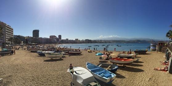 Gran Canaria początek