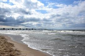 Plaża Międzyzdroje Autor zdjęcia: PhotoMIX-Company Źródło: Pixabay