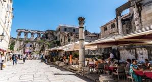 Split, stare miasto Źródło: Pixabay Autor zdjęcia: Mariamichelle