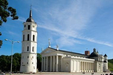 Bazylika archikatedralna św. Stanisława Biskupa i św. Władysława w Wilnie Autor zdjęcia: jackmac34 Źródło: Pixabay